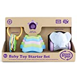 Llaves, tazas para apilar y elefante de juguete reciclado