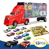 Camión de juguete portacoches