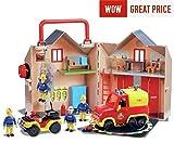 Fireman Sam Set de rescate de bomberos de chimenea para el año 2017/18 y crear el mundo del sam bombero