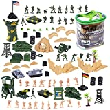 100 piezas de soldados de juguete