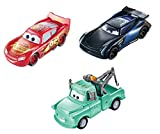 Disney Cars Pixar Pack 3 Rayo Mcqueen/Mate/Jackson Storm Cambio Color Cars (Mattel GPB03)