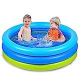 Joyjoz Piscina Hinchable para Infantil Niños 120cm * 30cm Piscina para bebés Fit Summer Garden Juegos Acuáticos Familiares