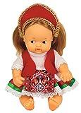 Los Barriguitas - Barriguitas del mundo Húngara, muñeco bebé barriguitas de Hungría, colección del mundo con ropa para muñecas, juguete para niños y niñas a partir de 3 años, FAMOSA (700016911)