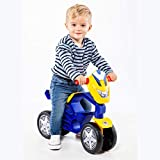 M MOLTO | Moto Correpasillos My First Azul | Moto Infantil de 4 Ruedas Todo Terreno | Juguetes Infantiles Seguros y Resistentes | Fomenta el Desarrollo de Niños y Niñas | De 12 a 36 Meses