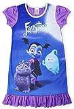 Camisetas de princesa Disney con el Rey León, Aladino, Cenicienta, La Patrulla Canina, La Sirenita. Producto oficial para niños, camisón para princesas Vampirina 7-8 Años