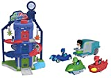Majorette - Pj Masks - Garage Quartier General Pyjamasques + 4 Véhicules , color/modelo surtido