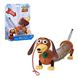 Toy Story 4- Disney and Pixar Story Slinky Dog Jr Pull Toy, Multicolor, 22.2 x 5.1 x 18.4 cm (Flair Leisure Products 03240)