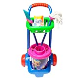 General juguetes - Carro Limpieza Completo, Multicolor, 56 x 31 cm
