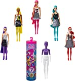 Barbie Color Reveal, muñeca sorpresa color monocromático con accesorios de moda sorpresa (Mattel GTR94)