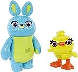 Disney- Pixar Toy Story Ducky and Bunny, Multicolor, Pack de 2 (Mattel GGJ92)