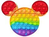 NF ROADTOLOVE Fidget Fidget Toy Juguete Antiestres, Pop It Sensorial Micky para Niños y Adultos, Bubble Push Pop it Mickey, Juguetes Antiestrés de Explotar Burbujas para Aliviar estrés y Ansiedad.