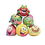 Bob Esponja SquarePants | Bolas de esponja coleccionables en bolsa ciega | 3 pulgadas | personajes mixtos , color/modelo surtido