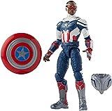Avengers Hasbro Marvel Legends Series Figura del Capitán América de 15 cm - Diseño Premium y 2 Accesorios - Edad: 4+