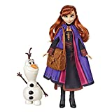 Disney- Frozen Anna Muñeca Fashion, Multicolor (Hasbro 566761)