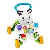 Fisher-Price - Cebra parlanchina primeros pasos - andador bebes - (Mattel DLD87)
