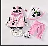 TEABITHIA 4 Estilos Diferentes Se Ajusta a 50-55 CM Muñecas recién Nacidas Vestido Reborn Baby Doll Toda la Ropa de algodón