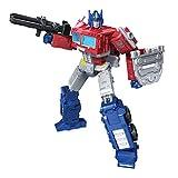 Transformers Toys Generations War for Cybertron: Kingdom Leader WFC-K11 Optimus Prime Figura de acción – niños de 8 años en adelante, 7 Pulgadas