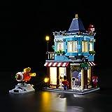 LIGHTAILING Conjunto de Luces (Creator Tienda de Juguetes) Modelo de Construcción de Bloques - Kit de luz LED Compatible con Lego 31105 (NO Incluido en el Modelo)