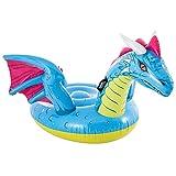 Intex 57563NP - Dragón hinchable INTEX, hinchable para niños, medidas 201x191 cm, hinchable para piscina, playa, a partir de los 3 años, capacidad 40 Kg, colchonetas INTEX