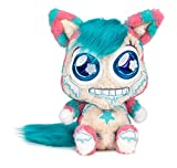 Famosa - Freezees GLACY GLU, muñeco de peluche para bebé recién nacido, peluches con ojos luminosos que brillan en la oscuridad y cambia de color cuando lo abrazas (760018820)