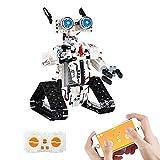 LINANNAN Buen Robot Inventor Kit de robóticos Bloques de construcción, aplicación de Juguete Interactivo programable con Control Remoto para niños, Toy Toy Compatible con Lego Robot, 467PCS