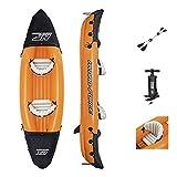 BESTWAY - Kayak Hinchable Hydro-Force Lite-Rapid 321 x 88 x 42 cm 2 Personas con Remos