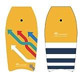 Best Goods Tabla de surf segura para niños y adultos, para surf y surf en el agua, piscina marina (37 pulgadas / 41 pulgadas)
