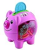 Fisher-Price Smart Stages banco de cerditos, juguete educativo electrónico para bebés con canciones y frases y luces que enseñan contar, números, colores, 6 meses más