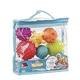 Bolsa Bolas sensoriales 6 pcs Molto con Diferentes Texturas y Colores, Libre de BFA, a Partir de 6 Meses. Juguete bebé Apto para programas de estimulacion temprana.