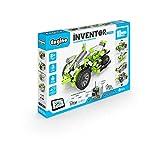Engino | Inventor Motorizado y Juguete de Construcción | Bicicleta extrema de 4 ruedas con 10 modelos
