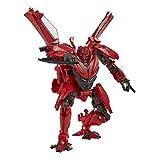 Transformers Toys Studio Series 71 Deluxe Class Dark of The Moon Autobot Dino Figura de acción - Edades 8 y más, 4.5 Pulgadas