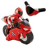Chicco Ducati 119, Moto Teledirigida para Niños con Control Remoto Intuitivo en Forma de Manillar, Motocicleta Radiocontrol con Sonido de Bocina y Motor – Juguetes para Niños y Niñas de 2 a 6 Años