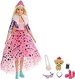 Barbie Princess Adventure Princesa Deluxe, muñeca rubia con accesorios (Mattel GML76)