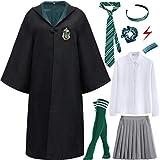 Ramonala Magic Academy Uniforme de Estudiante Costume Niños Adultos Hembra Disfraz Fan Artículo Conjunto de Atuendo Halloween Carnaval Cosplay Navidad Fiesta Mascarada Camisa Falda Corbata Calcetín