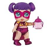 Super Cute - Muñecas para niñas Super Cute Muñeca Interactiva superheroína Sisi con biberón mágico y Accesorios Muñecas Niñas 3 años Muñecas bebé recién nacido para niños niñas