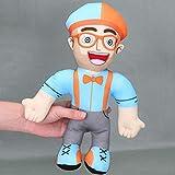 aolongwl Juguete de Peluche 32cm Blippi Hat Plush Doll Peluche De Peluche para Regalo De Bebé