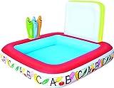 Bestway 52184 Kids' Play Pool - billares para niños (Estampado,, Vinilo, 1230 x 1230 mm, Caja a Todo Color)