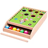 HEZHANG Billares Divertidos, Bolos para Niños, Juguetes Intelectuales para Niños Y Niñas para Concentración Y Coordinación de Ojos a Mano. Capacitación de Juegos de Mesa de Arcade
