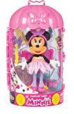 Minnie Mouse- Minnie Fashion Doll Hada Juguete, Color variado, Talla unica (China 1) , color/modelo surtido