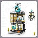 Xpixel Mini Avenue Blocks - Perfumería Juguete de Construcción - Bloques Tamaño Mini - Construye tu Propia Mini Avenida