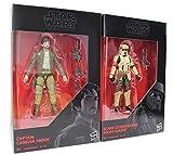 Star Wars - The Black Series 2-Pack de Figuras de acción de 9.5 cm para la película, para niños, niñas y fanáticos (Cassian und Stormtropper)