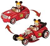Mickey Mouse-182813 TRANSFORMABLE DOGGIN' Hot Road, Multicolor (Propio 182813)