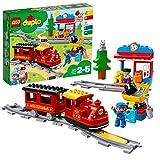 LEGO DUPLO Trains - Tren de Vapor, Juguete Educativo de Aprendizaje de Codificación con Muñecos y Locomotora para Niños y Niñas de 2 a 5 Años, Complementable con APP (10874) , color/modelo surtido