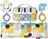 Fisher Price Mini cuña de piano para pequeños músicos, juguete para bebé recien nacido (Mattel GJD27) , color/modelo surtido