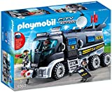 PLAYMOBIL City Action Vehículo con luz LED y Módulo de Sonido, a Partir de 5 Años (9360)