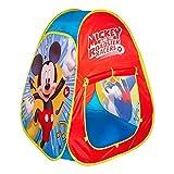 Disney - Tienda Pop Up infantil para niños Niñas Disney Casitas infantiles tela Juguetes para niños 3 años Carpa plegable con bolsa de transporte Mickey Plegable y Automontable