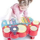 CubicFun Instrumentos Musicales Juguetes Bebes 1 año Piano Infantil Juego Tambor Teclado Piano y Xilófono Set, Juguete Musical Regalo Juguetes para Niños 2 3 4 5 años