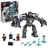 LEGO 76190 Marvel Iron Man: Caos de Iron Monger, Juguete de Construcción con Figuras de Acción de Superhéroes para Niños +9 años