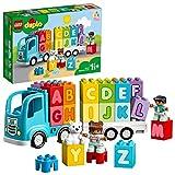 LEGO 10915 Duplo My First Camión del Alfabeto Juguete Educativo y de Aprendizaje para Bebes, Niños y Niñas +1,5 año con 2 Mini Figuras