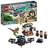 LEGO Jurassic World - Dilofosaurio a la Fuga Set de construcción de Aventuras con Figura de Dinosaurio, incluye un dron de Juguete, Novedad 2019 (75934) , color/modelo surtido